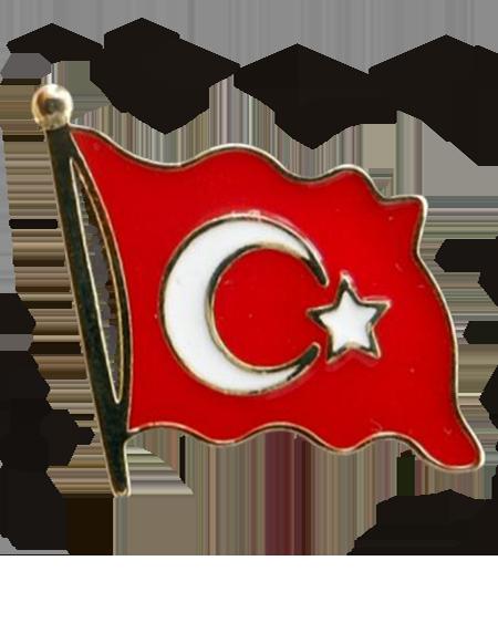 Turk Bayragi Rozeti